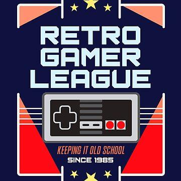 Retro Gaming League by machmigo
