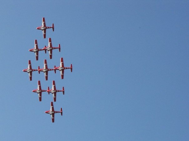 snowbirds formation by cherylsnake