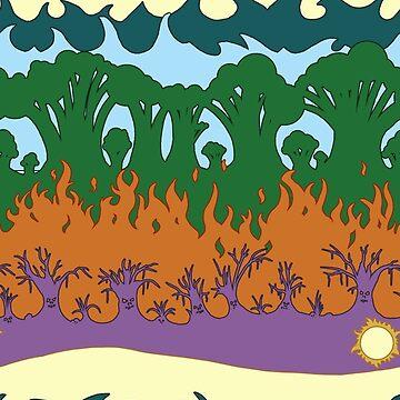 Plains Pattern by ianablakeman