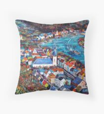Mosel Valley Throw Pillow