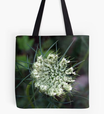 Becoming Queen Anne's Lace Tote Bag