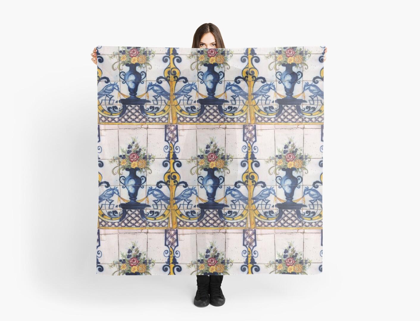 Portugal Tile Number Twenty One by Michael Kienhuis