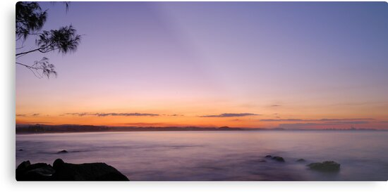dusk waters of Coolangatta by Danny Waters