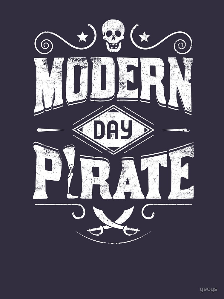 Modern Day Pirate - Amputee Gift von yeoys