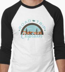 Road Trip Captain Baseball ¾ Sleeve T-Shirt