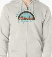 Road Trip Captain Zipped Hoodie