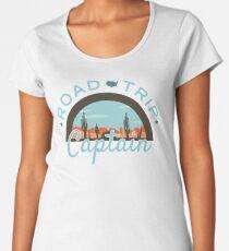 Road Trip Captain Premium Scoop T-Shirt