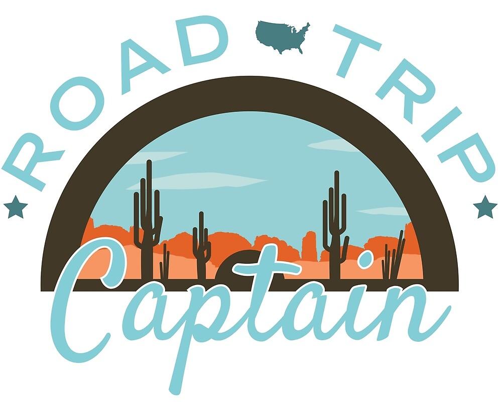 Road Trip Captain by bigfatdesigns