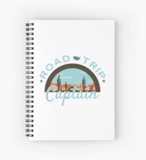 Road Trip Captain Spiral Notebook