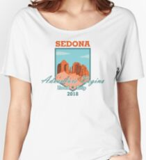 Sedona Adventure Begins Relaxed Fit T-Shirt