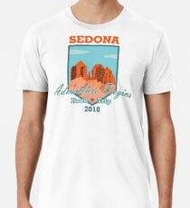 Sedona Adventure Begins Premium T-Shirt