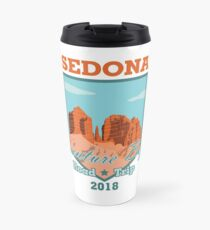Sedona Adventure Begins Travel Mug
