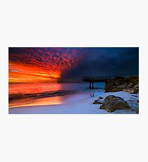 Fire Water Photographic Print