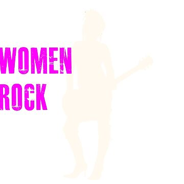 Women Rock shirt by Gigwear