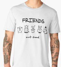 Friends Not Food  Men's Premium T-Shirt