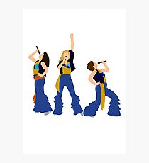 Donna and the Dynamos Young  Photographic Print