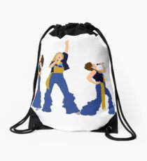 Donna and the Dynamos Young  Drawstring Bag