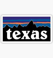 Texas Mountains Sticker