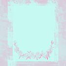 Weinlese-saurer Blumen-Rahmen von lollylocket