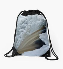 Water and Ice Drawstring Bag