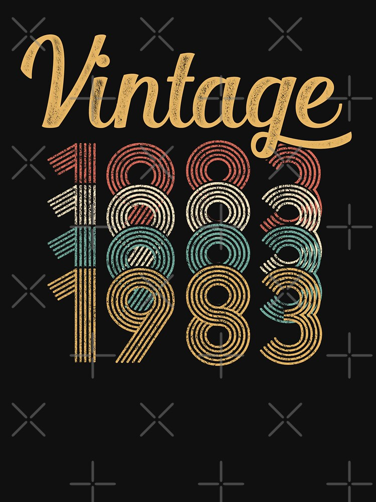 Vintage 1983 - 35th Birthday by funny-gift