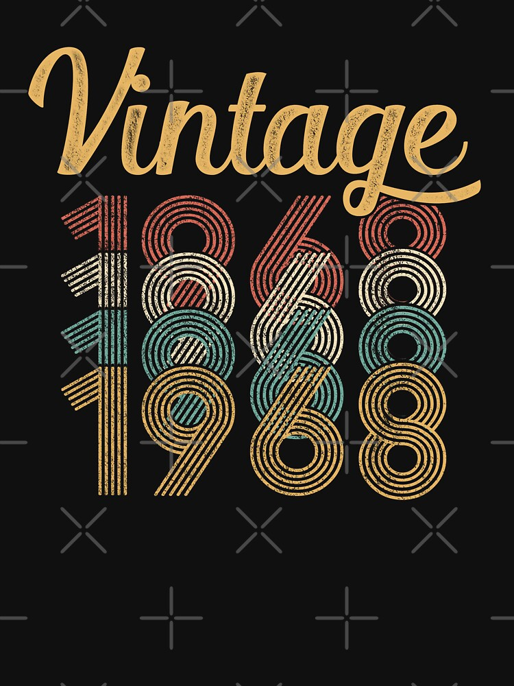 Vintage 1968 - 50th Birthday by funny-gift