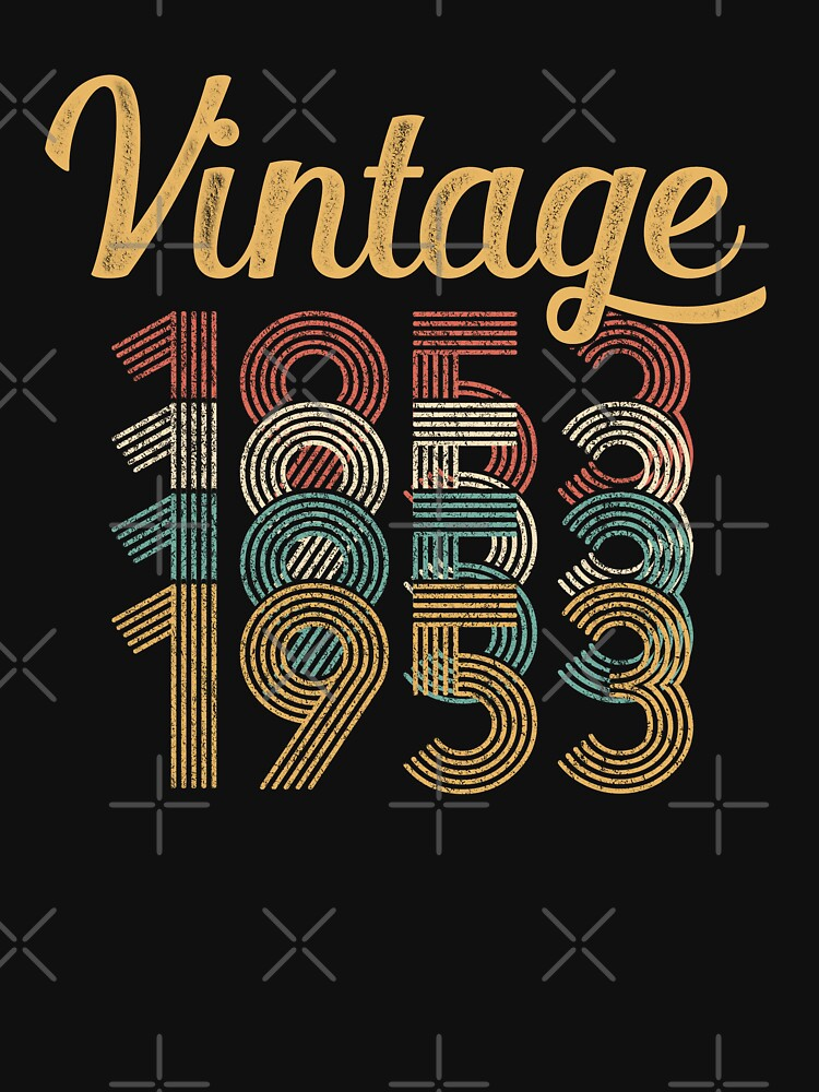 Vintage 1953 - 65th Birthday by funny-gift