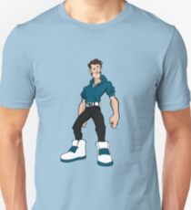 Big Shoes (Blue) Unisex T-Shirt
