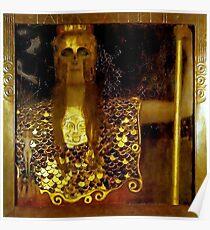 Pallas Athena....Greek female warrior Godess Poster
