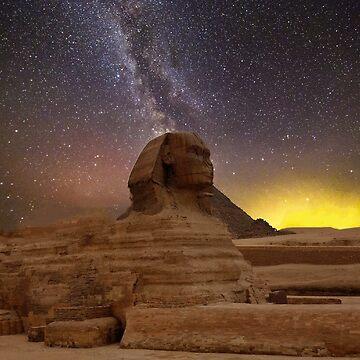 The Sphinx by wesleytopia