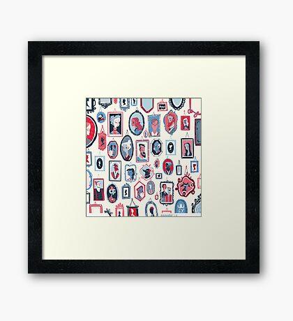 Hang Ups Framed Print