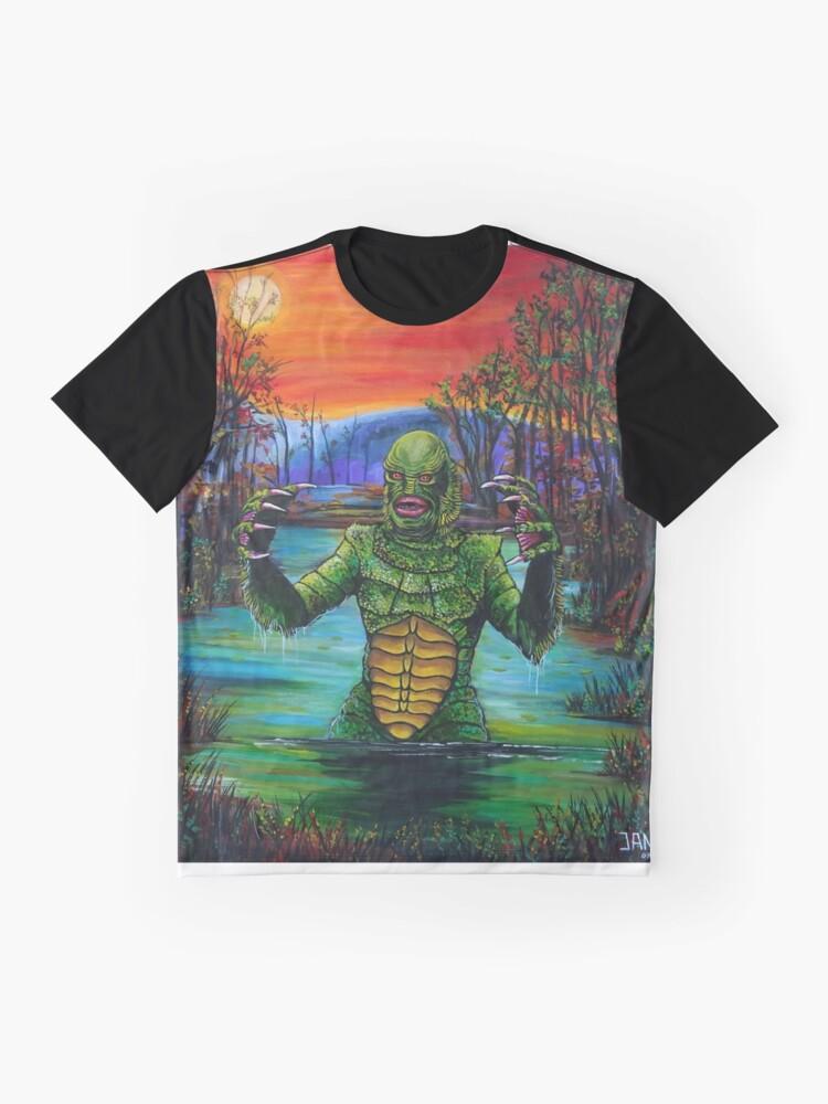 Vista alternativa de Camiseta gráfica Creature from the Black Lagoon