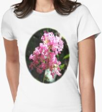 Crape Myrtle Womens Fitted T-Shirt