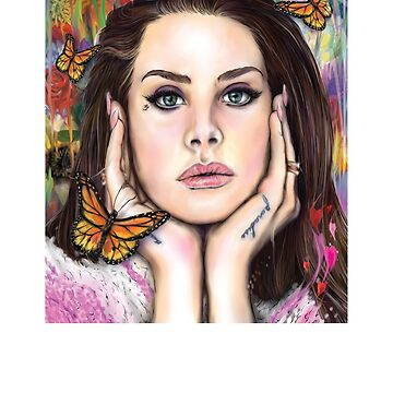 Lana Del 3rd by therdai