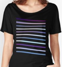 Stripes in Motion Women's Relaxed Fit T-Shirt