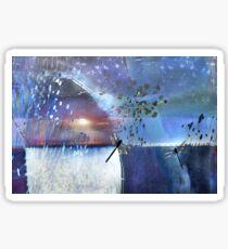 Pond Play...A Glorious Night Sticker