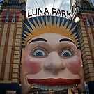 Luna Park and Abel, Milsons Point, Sydney 2009 by Gayan Benedict