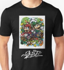 Sup3r Mario World Unisex T-Shirt