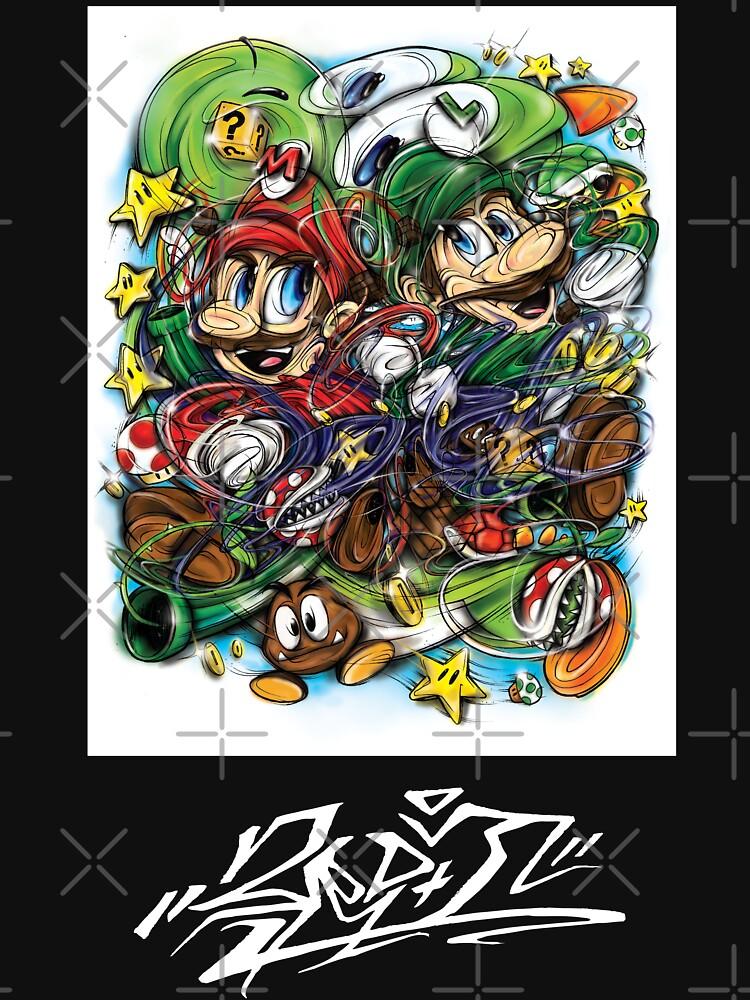 Sup3r Mario World by therdai