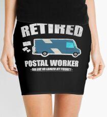 Retired Postal Worker Shirt No Longer My Priority Mini Skirt