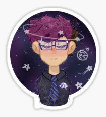Space Logan Sticker