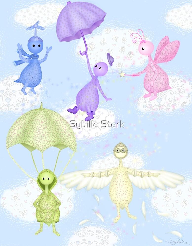 Flying by Sybille Sterk