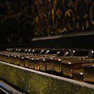 Old piano by Kamila  Jerichow