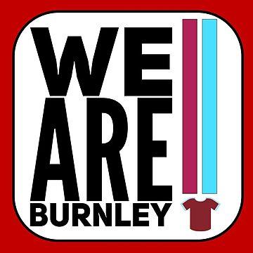 Burnley by MworldTee