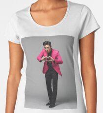 OBEN. Urknall Premium Rundhals-Shirt