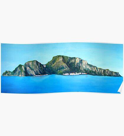 Capri - the Island Poster