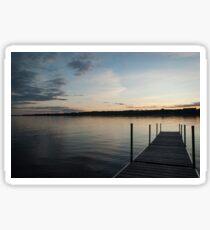 Lake View Sticker