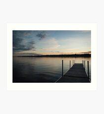 Lake View Art Print