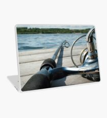 Rod and reel Laptop Skin