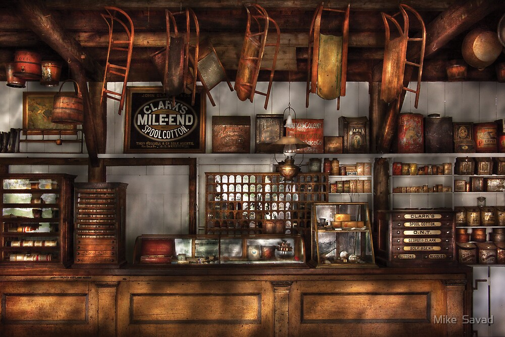 Old Fashioned Super Store by Michael Savad
